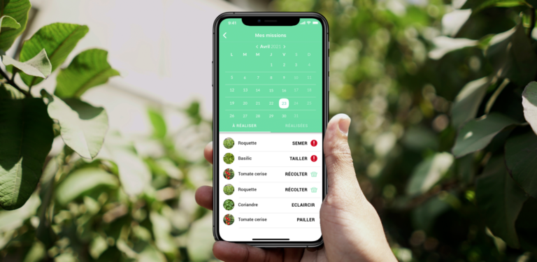 APPLICATION MOBILE D'AGRICULTURE URBAINE